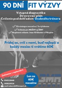 Skupinové cvičenie Prešov